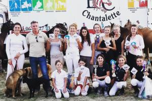 concours equitation dressage le cailar